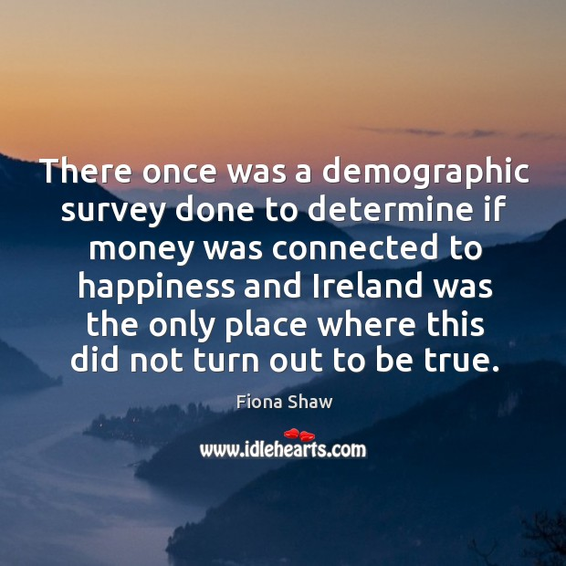 There once was a demographic survey done to determine if money was connected to happiness and Image