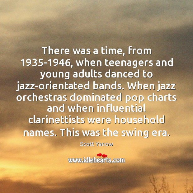 There was a time, from 1935-1946, when teenagers and young adults danced Image