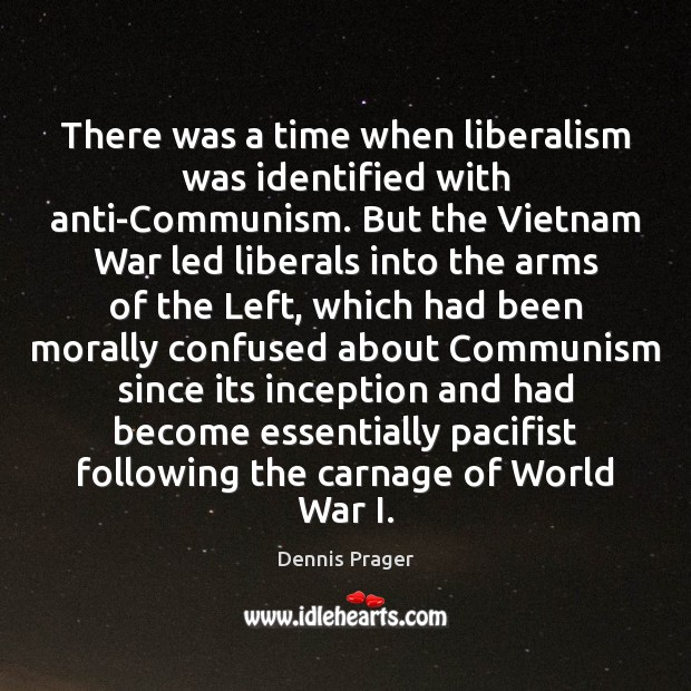 Image, There was a time when liberalism was identified with anti-Communism. But the