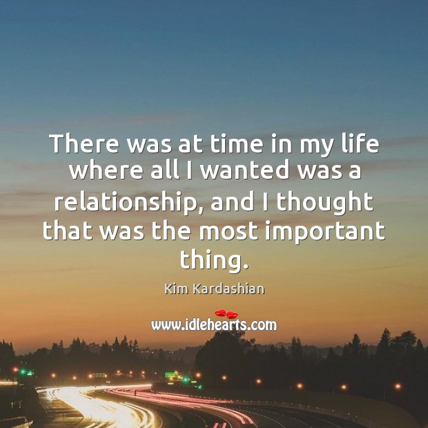 There was at time in my life where all I wanted was Image