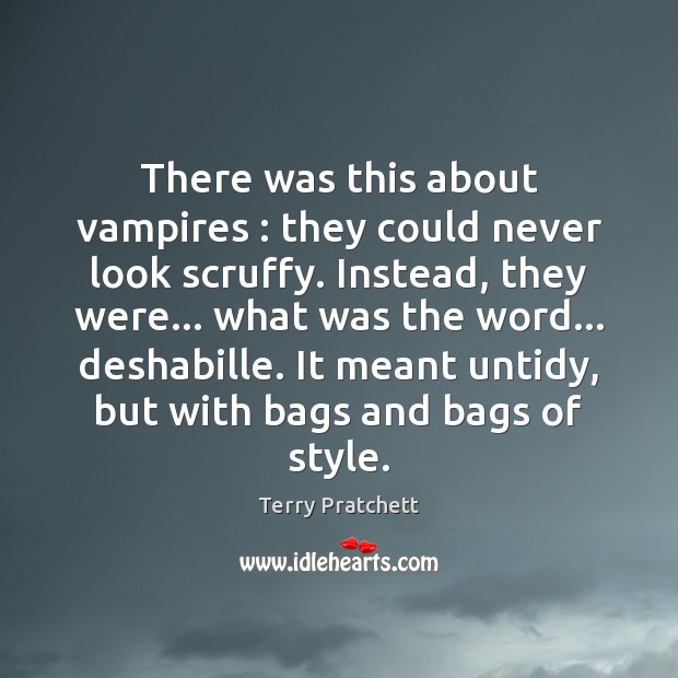 Picture Quote by Terry Pratchett