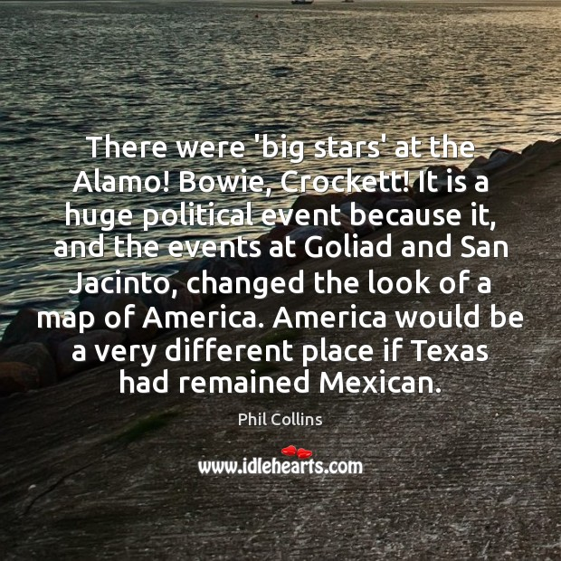 Image, There were 'big stars' at the Alamo! Bowie, Crockett! It is a