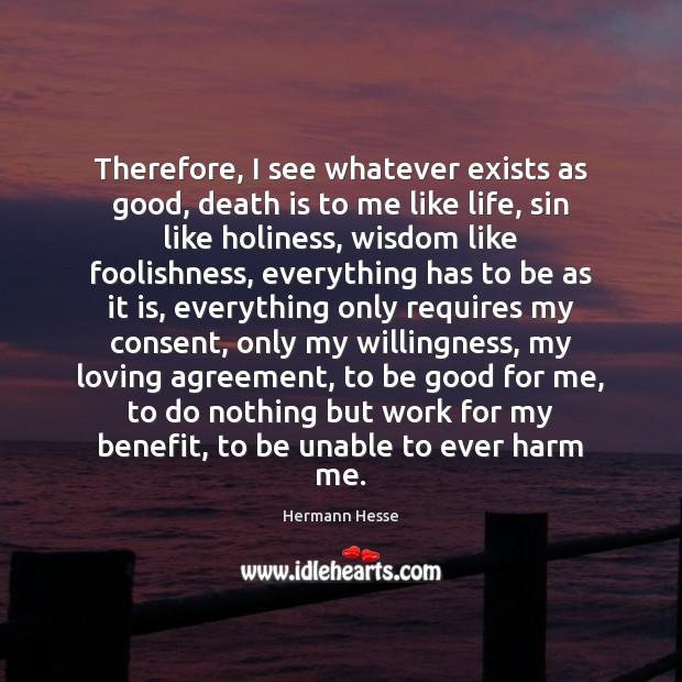 Picture Quote by Hermann Hesse