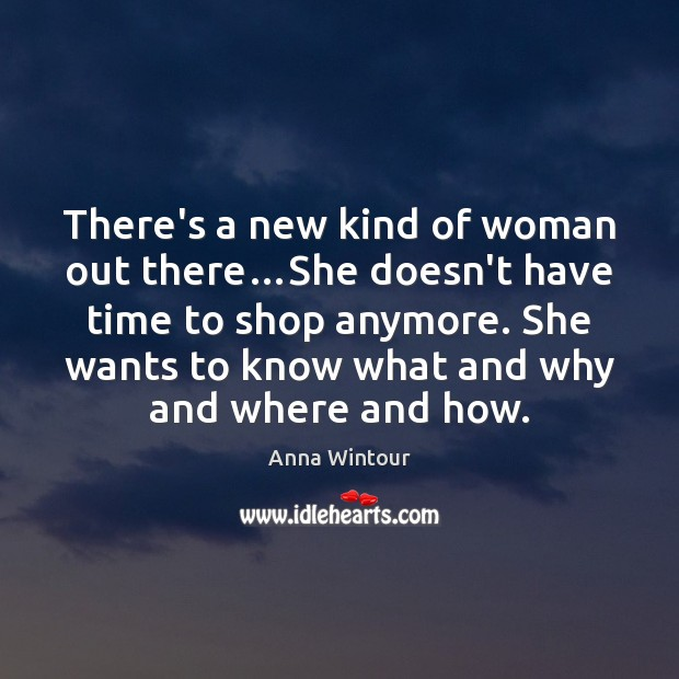 Image, There's a new kind of woman out there…She doesn't have time