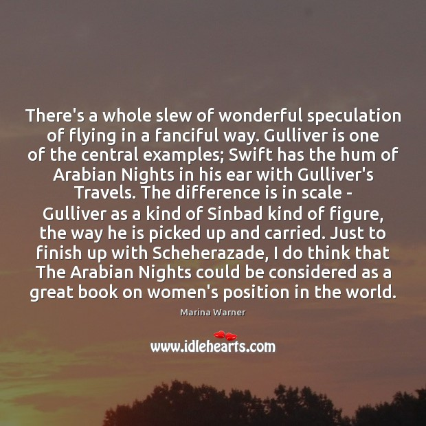 There's a whole slew of wonderful speculation of flying in a fanciful Image