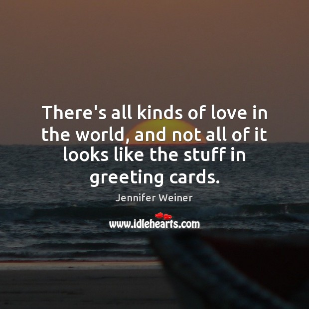 There's all kinds of love in the world, and not all of Image