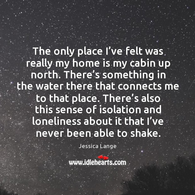 There's also this sense of isolation and loneliness about it that I've never been able to shake. Image
