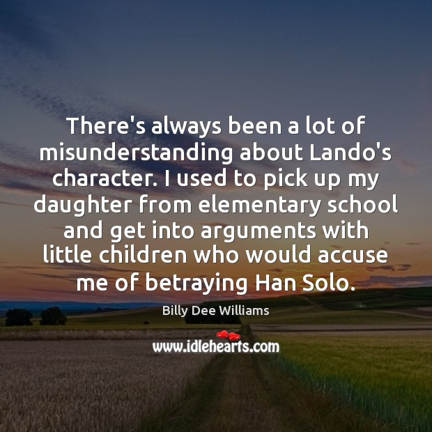 Image, There's always been a lot of misunderstanding about Lando's character. I used