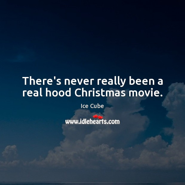 There's never really been a real hood Christmas movie. Image