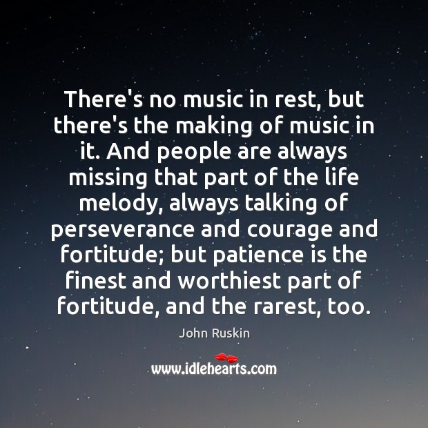 There's no music in rest, but there's the making of music in Image