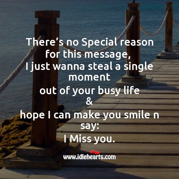 Missing You Messages Image
