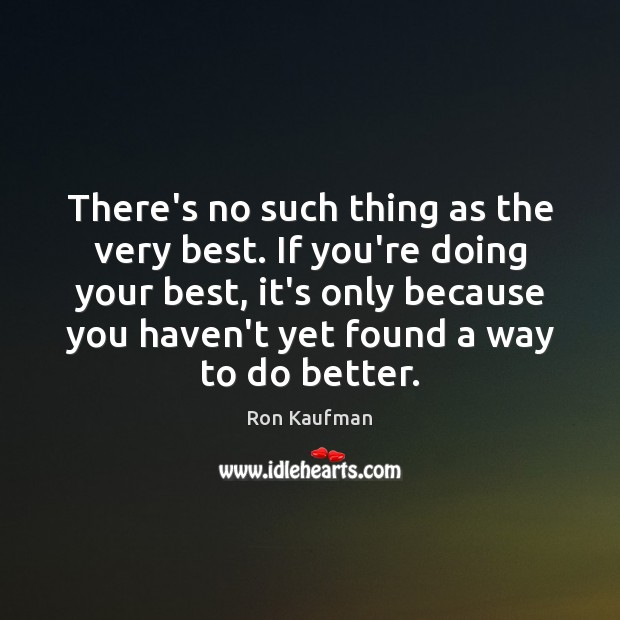 There's no such thing as the very best. If you're doing your Image