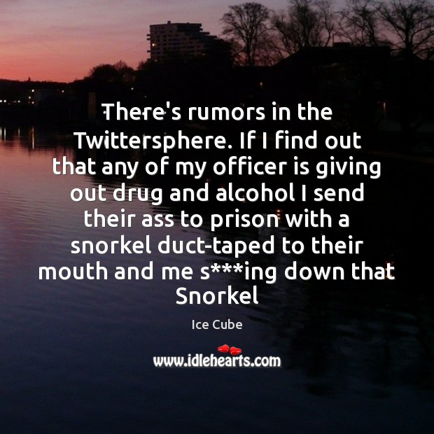 There's rumors in the Twittersphere. If I find out that any of Image