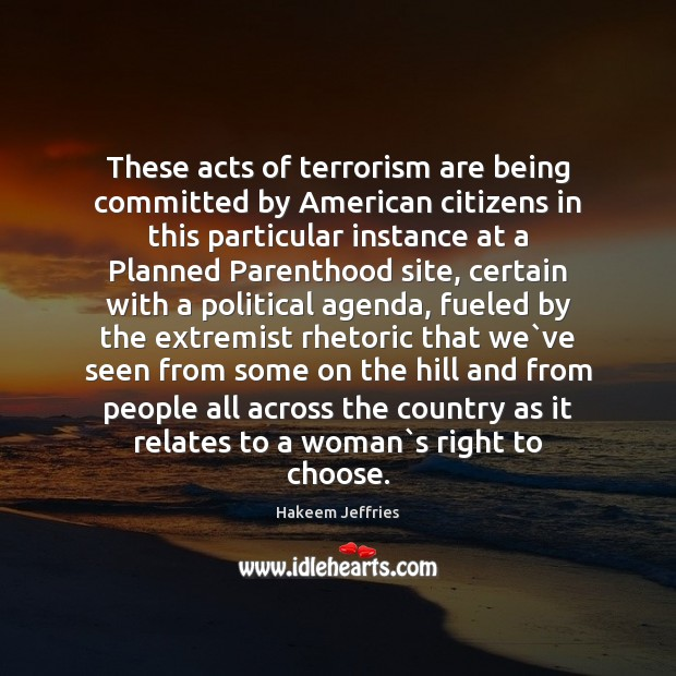 Image, These acts of terrorism are being committed by American citizens in this