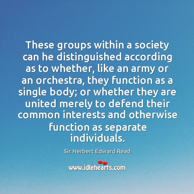 These groups within a society can he distinguished according as to whether Image