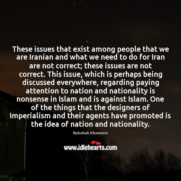 Image, These issues that exist among people that we are Iranian and what