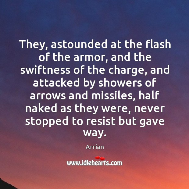 Image, They, astounded at the flash of the armor, and the swiftness of the charge