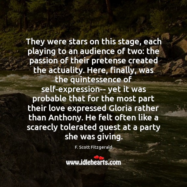 Image, They were stars on this stage, each playing to an audience of