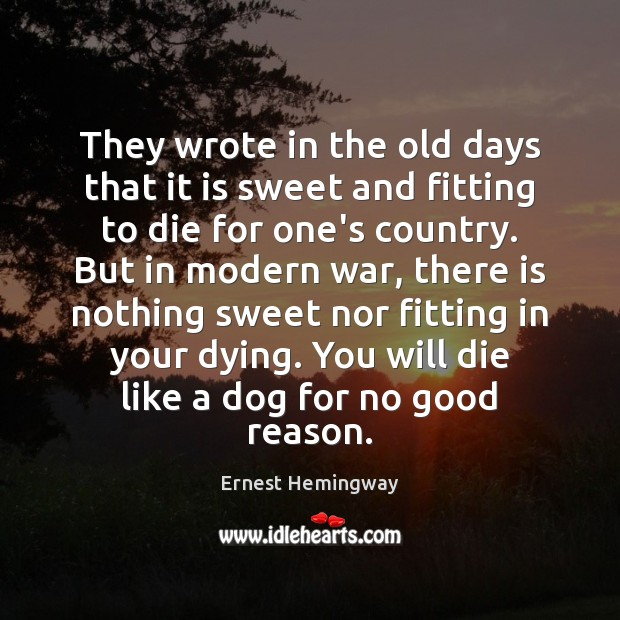 Picture Quote by Ernest Hemingway