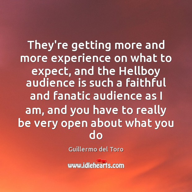 They're getting more and more experience on what to expect, and the Faithful Quotes Image