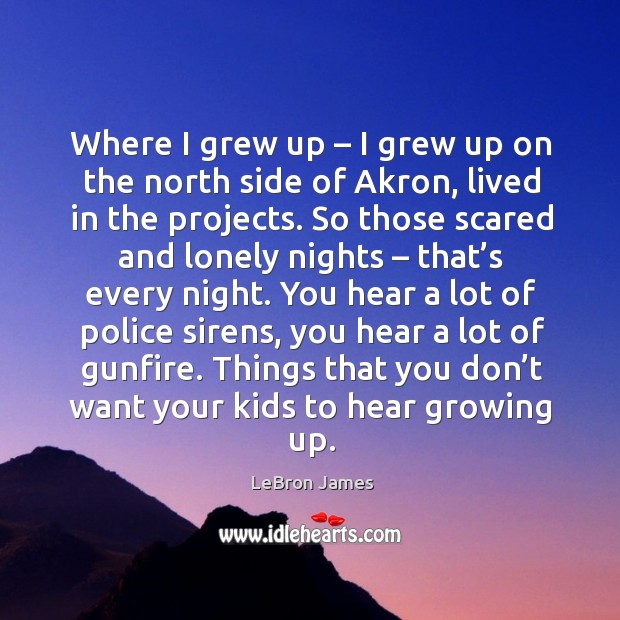 Things that you don't want your kids to hear growing up. Image