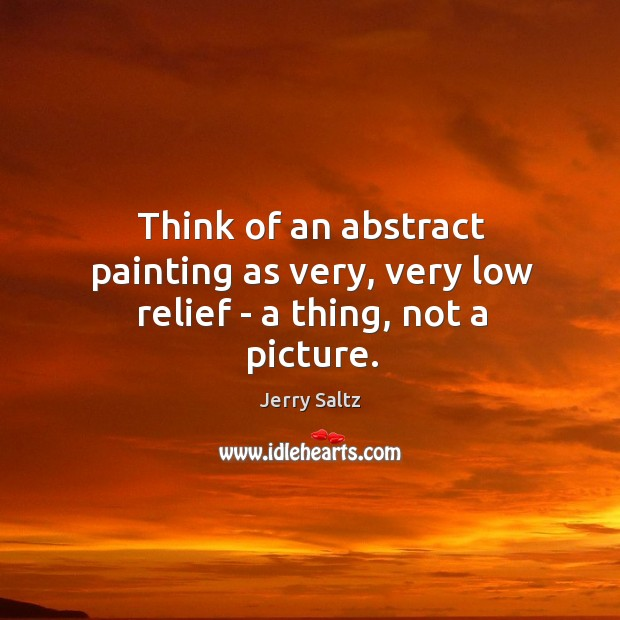 Picture Quote by Jerry Saltz