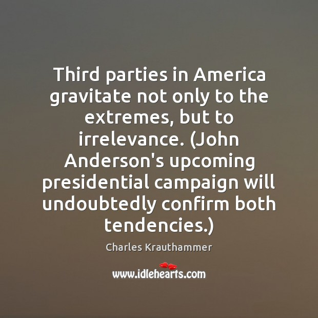 Third parties in America gravitate not only to the extremes, but to Image