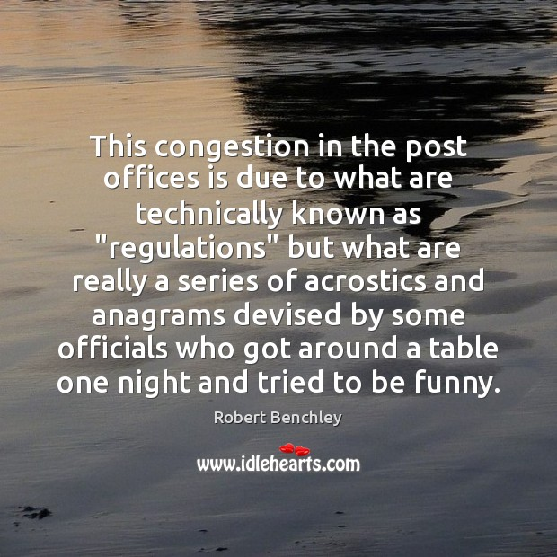 Image, This congestion in the post offices is due to what are technically