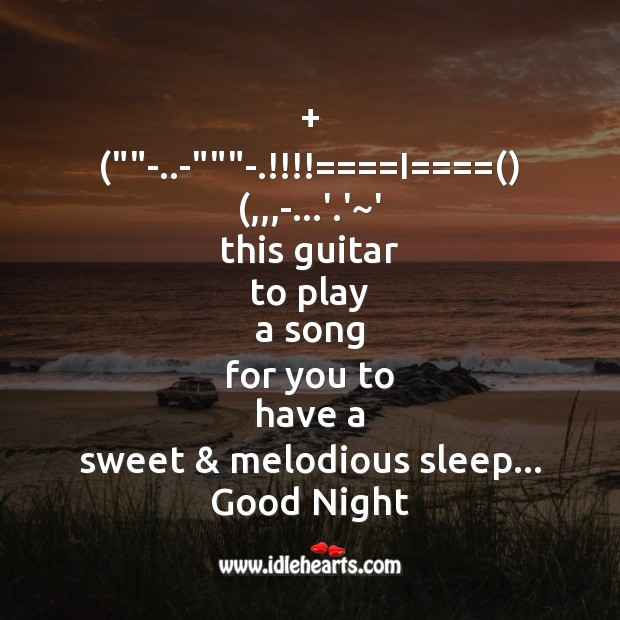 This guitar to play a song Image