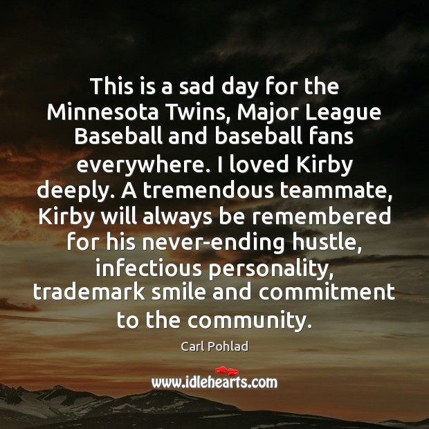 Image, This is a sad day for the Minnesota Twins, Major League Baseball