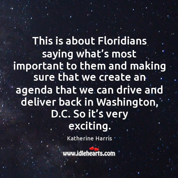 Image, This is about floridians saying what's most important to them and making sure that we create an