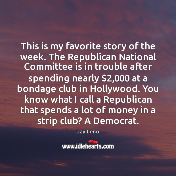This is my favorite story of the week. The Republican National Committee Image