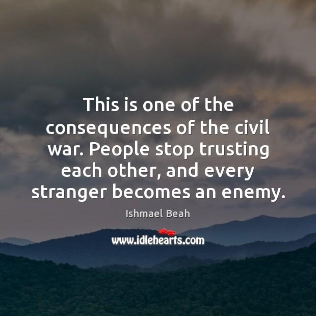 civil war consequences