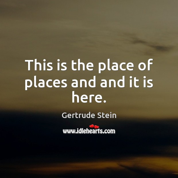 Picture Quote by Gertrude Stein