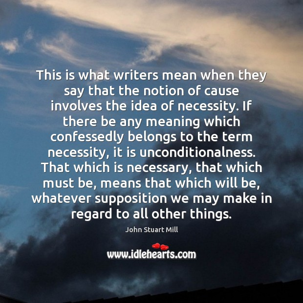 Image, This is what writers mean when they say that the notion of