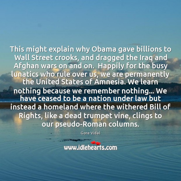 Image, This might explain why Obama gave billions to Wall Street crooks, and