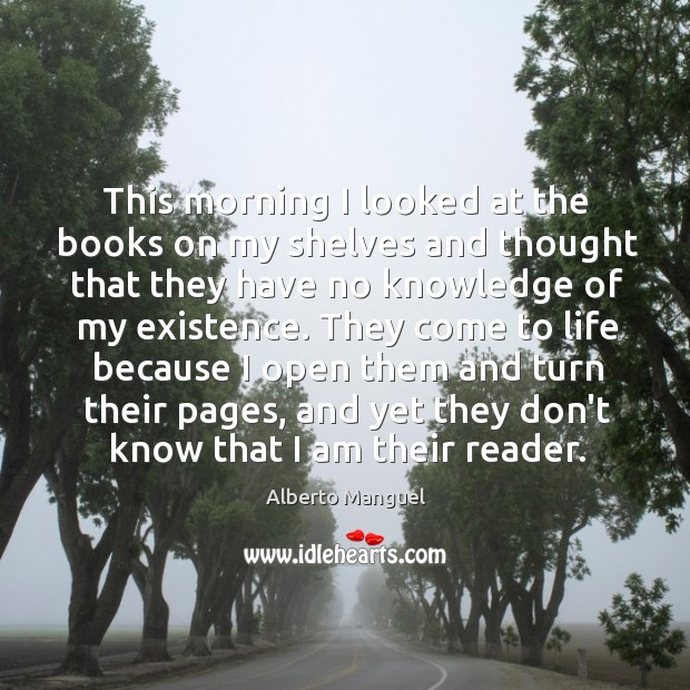 This morning I looked at the books on my shelves and thought Image