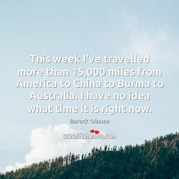 This week I've travelled more than 15,000 miles from America to China to Image