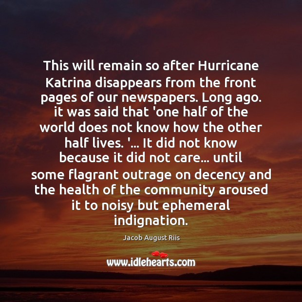 Image, This will remain so after Hurricane Katrina disappears from the front pages