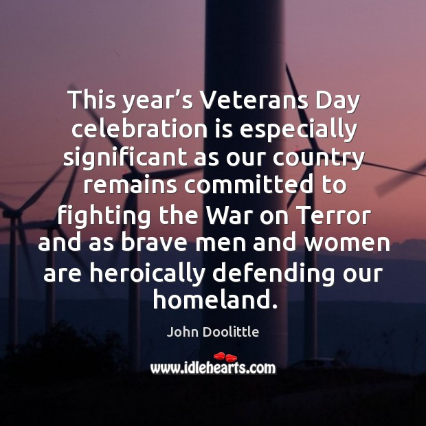 Veterans Day Quotes