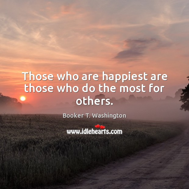 Picture Quote by Booker T. Washington