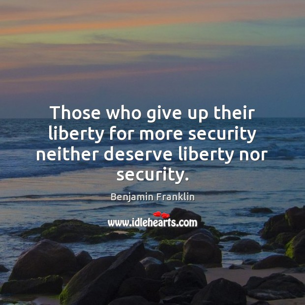 liberty and security relationship