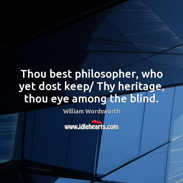Picture Quote by William Wordsworth