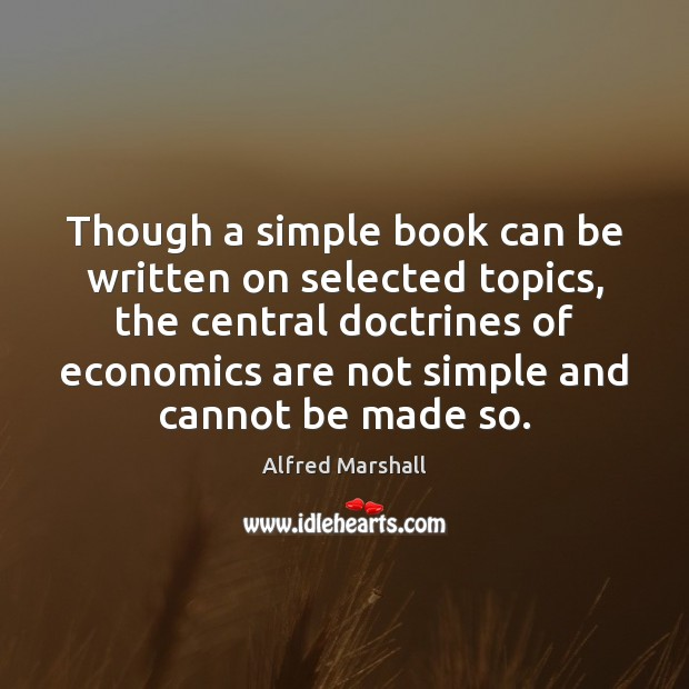 Image, Though a simple book can be written on selected topics, the central