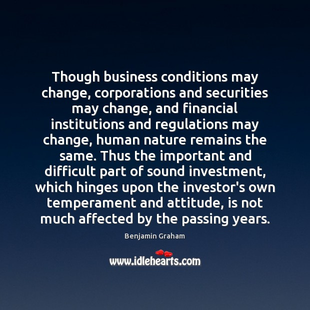 Image, Though business conditions may change, corporations and securities may change, and financial