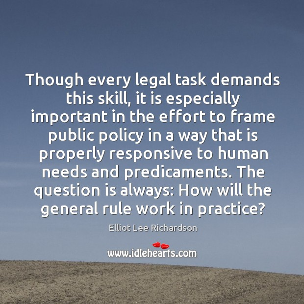 Though every legal task demands this skill, it is especially important in the effort to frame Image