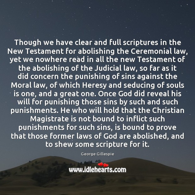 Image, Though we have clear and full scriptures in the New Testament for