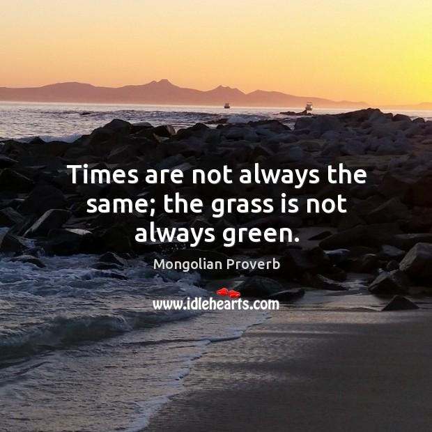Mongolian Proverbs