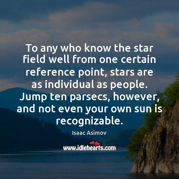 To any who know the star field well from one certain reference Image