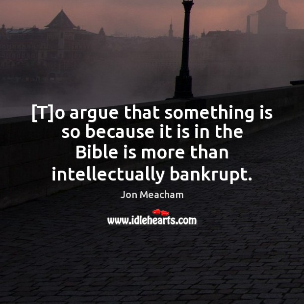 [T]o argue that something is so because it is in the Image